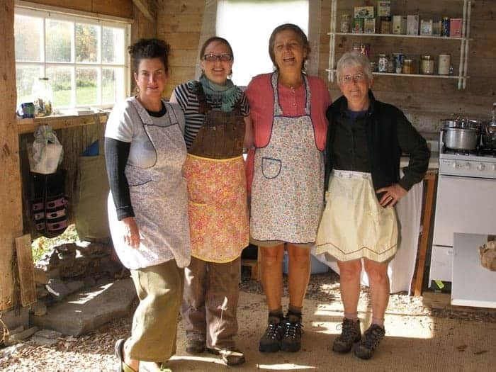 Lisa (with Karen, Kris, and Shirley)