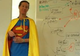 Super Tammi teaching A&P